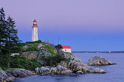 Photograph - Point Atkinson Lighthouse, Lighthouse by Michael Wheatley