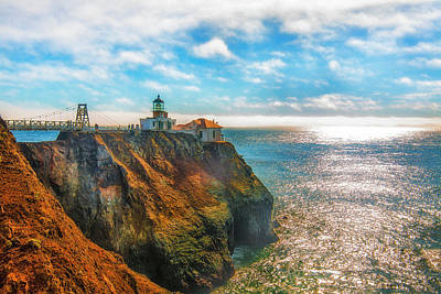 Point Bonita Lighthouse Art Print by Fernando Margolles