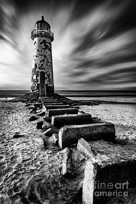 Photograph - Point Of Ayr Lighthouse by Adrian Evans