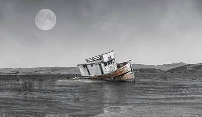 Point Reyes National Seashore Photograph - Point Reyes California Shipwreck by Betsy Knapp