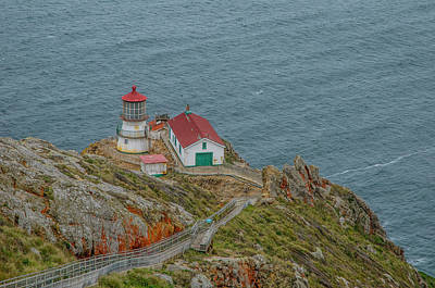 Photograph - Point Reyes Lighthouse by Matthew Irvin