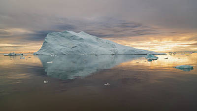 Photograph - Pointed Ice by Michael Blanchette