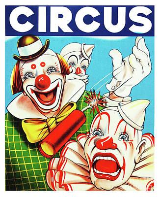 Photograph - Polack Bros. Circus - America's Finest C. 1905 by Doc Braham