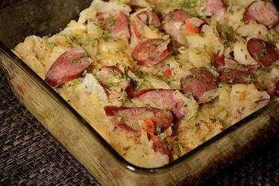 Photograph - Polish Kielbasa Cuisine 2 by Angie Tirado