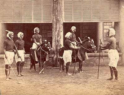 Polo In India Art Print by Henry Guttmann Collection