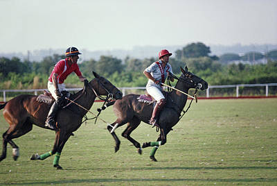 Photograph - Polo In Italy by Slim Aarons