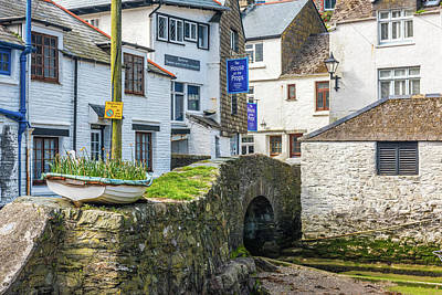 Photograph - Polperro, Cornwall by David Ross