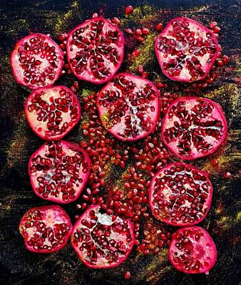 Photograph - Pomegranate New Year by Sarah Phillips