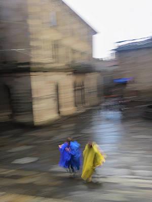 Photograph - Poncho Panic by Alex Lapidus