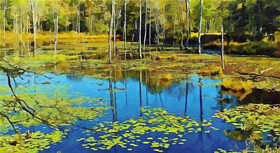 pond at Pine Acres Lake CT Original