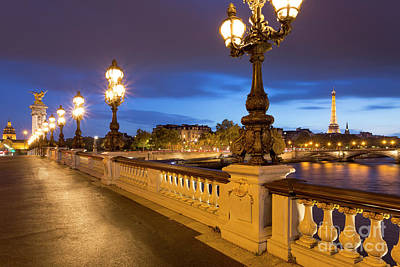 Bringing The Outdoors In - Pont Alexandre III Twilight by Brian Jannsen