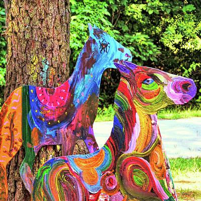 Photograph - Pony Art   by JAMART Photography