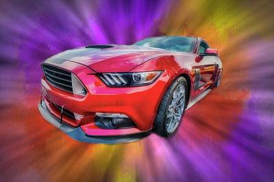 Photograph - Pony Car by Ches Black
