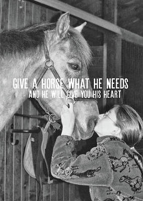 Kim Fearheiley Photography - PONY LOVE quote by JAMART Photography