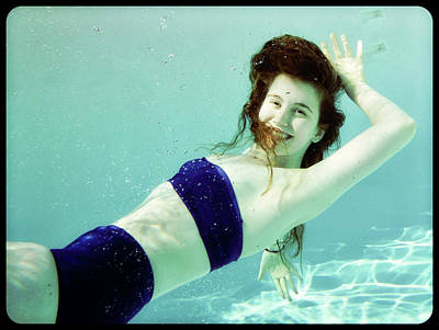 Photograph - Pool Girl by D Malone