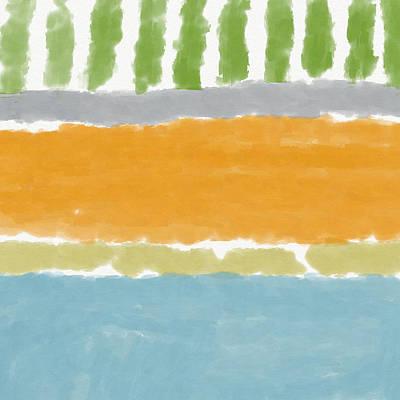 Painting - Poolside 1- Art By Linda Woods by Linda Woods