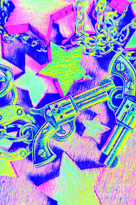 Comics Royalty-Free and Rights-Managed Images - Pop art police by Jorgo Photography - Wall Art Gallery