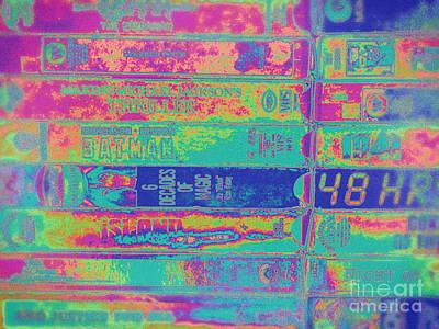 Digital Art - Pop Art Vcr Tapes by Phil Perkins
