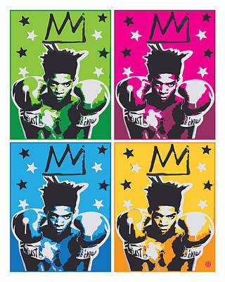 Digital Art - Pop Basquiat by Gary Grayson