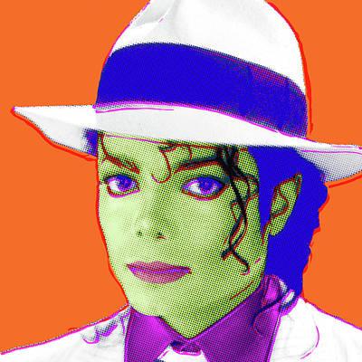 Digital Art - Pop Michael by Gary Grayson