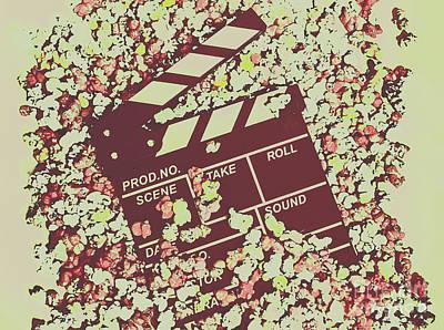 Popcorn Premiere  Art Print