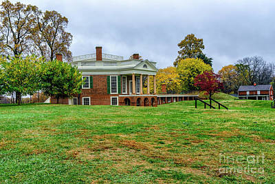 Politicians Royalty-Free and Rights-Managed Images - Poplar Forest in Autumn by Thomas R Fletcher