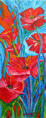 Painting - Poppy-Dream by Marianna MO Warr