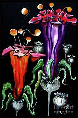 Painting - Poppies Fantasy.. by Jolanta Anna Karolska