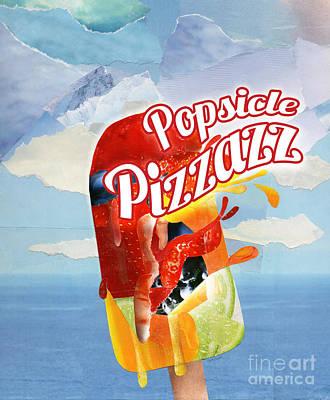 Lemon Mixed Media - Popsicle Pizzazz by Raquel Bright