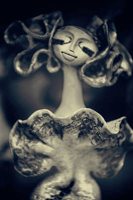 Photograph - Porcelain Ladies Series. Flirt by Jenny Rainbow