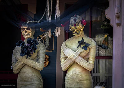 Photograph - Porch Mummies On Tillson Street by LeeAnn McLaneGoetz McLaneGoetzStudioLLCcom