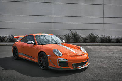 Photograph - #porsche 4.0 #gt3rs #print by ItzKirb Photography