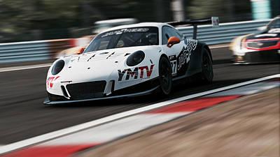 Photograph - Porsche 911 Gt3 R - 02 by Andrea Mazzocchetti