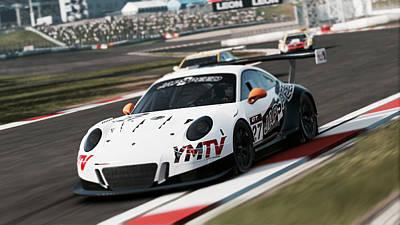 Photograph - Porsche 911 Gt3 R - 06 by Andrea Mazzocchetti