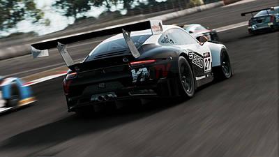 Photograph - Porsche 911 Gt3 R - 07 by Andrea Mazzocchetti
