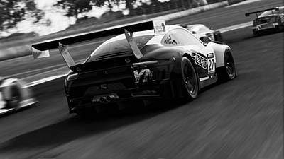 Photograph - Porsche 911 Gt3 R - 08 by Andrea Mazzocchetti