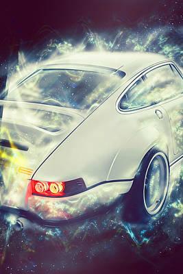Digital Art - Porsche 911 Singer - 05 by Andrea Mazzocchetti