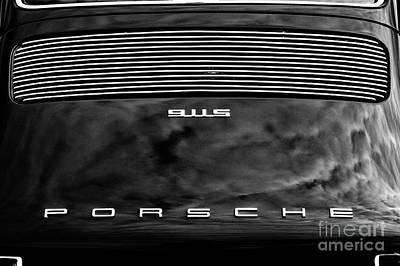 Photograph - Porsche 911s Monochrome by Tim Gainey