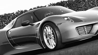 Photograph - Porsche 918 Hybrid - 45 by Andrea Mazzocchetti