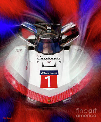 Photograph -  Porsche 919 Hybrid Evo Front by Blake Richards