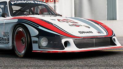 Photograph - Porsche 935/78 - 01 by Andrea Mazzocchetti