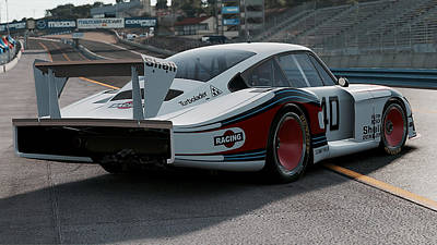 Photograph - Porsche 935/78 - 02 by Andrea Mazzocchetti