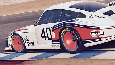 Photograph - Porsche 935/78 - 05 by Andrea Mazzocchetti