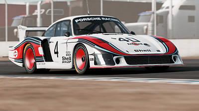 Photograph - Porsche 935/78 - 06  by Andrea Mazzocchetti