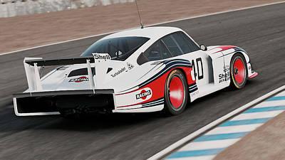 Photograph - Porsche 935/78 - 07 by Andrea Mazzocchetti