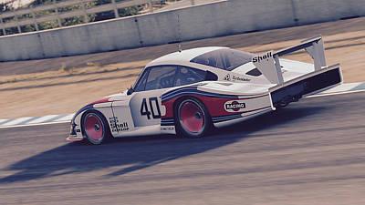 Photograph - Porsche 935/78 - 08 by Andrea Mazzocchetti
