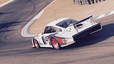 Photograph - Porsche 935/78 - 10 by Andrea Mazzocchetti