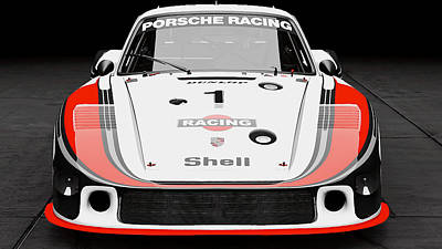 Photograph - Porsche 935/78 - 11  by Andrea Mazzocchetti