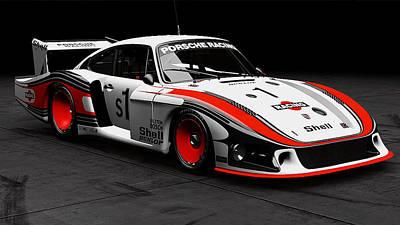 Photograph - Porsche 935/78 - 12 by Andrea Mazzocchetti