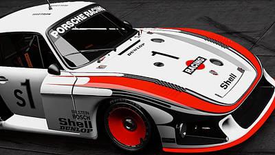 Photograph - Porsche 935/78 - 13 by Andrea Mazzocchetti